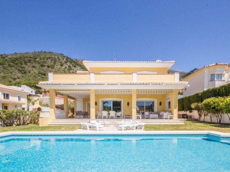 4 bedroom, 4 bathroom Villa for sale in Mijas