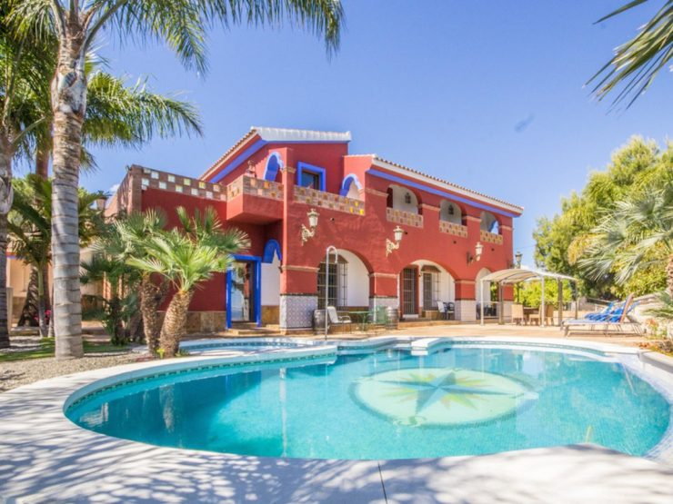 Immaculate very private Finca in Alhaurin El Grande, with panoramic views