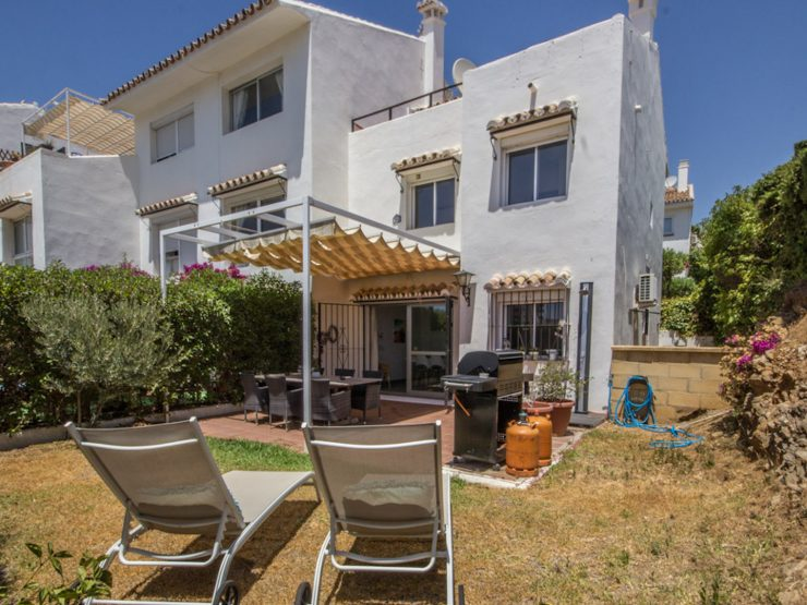 charming Andalusian townhouse with a Scandinavian touch in Riviera del Sol