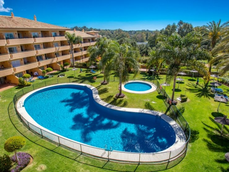 Top floor apartment with sea views – Los Patios de Santa Maria